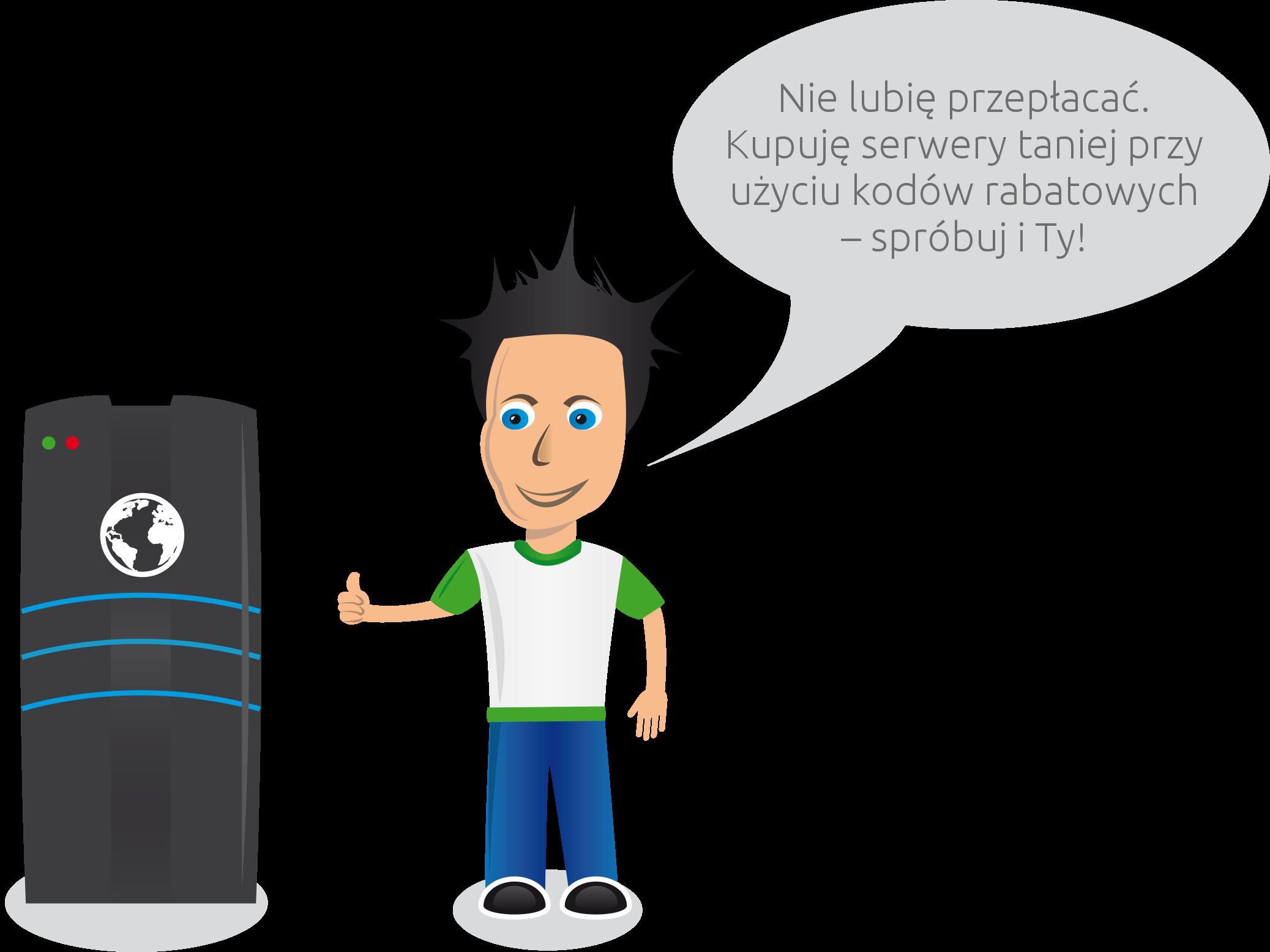 Kto lubi przepłacać? Lepiej kupować serwery taniej przy użyciu kodów rabatowych – spróbuj i Ty!
